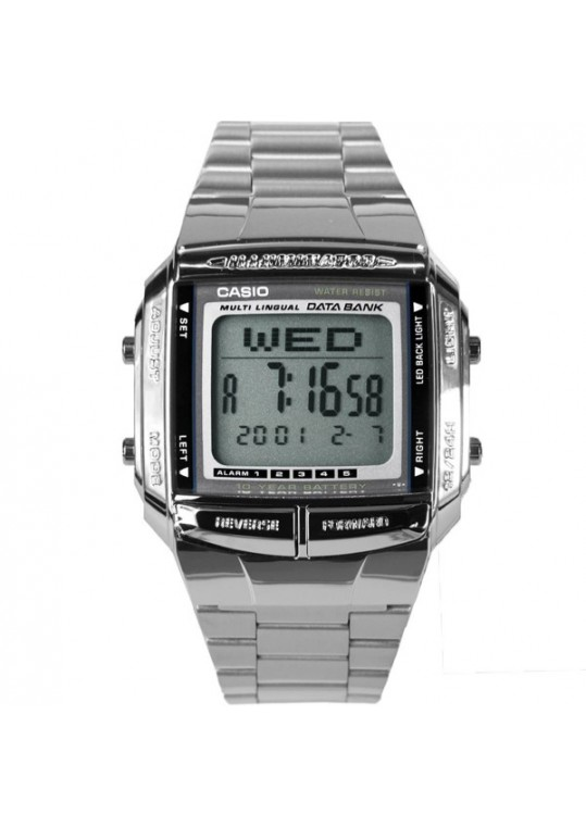 RELÓGIO CASIO MASCULINO DATA BANK DB-360-1ADF - cod 4971850762157